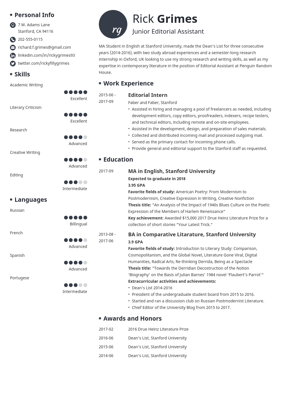 Cv Template For Graduates from cdn-images.zety.com