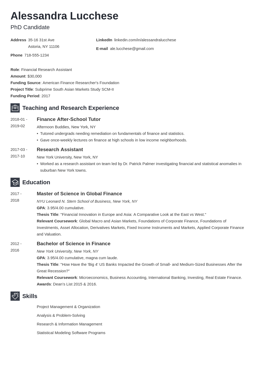 graduate school resume example template newcast