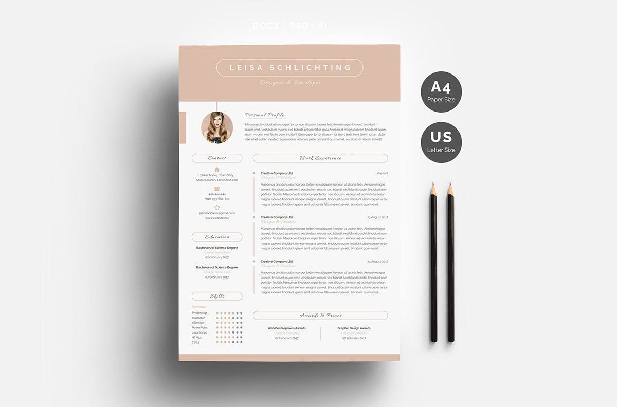 great resume template for microsoft word