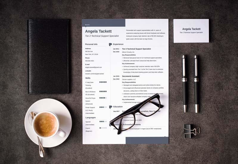 Great Resume Templates (15 Examples To Download & Use Right Now)