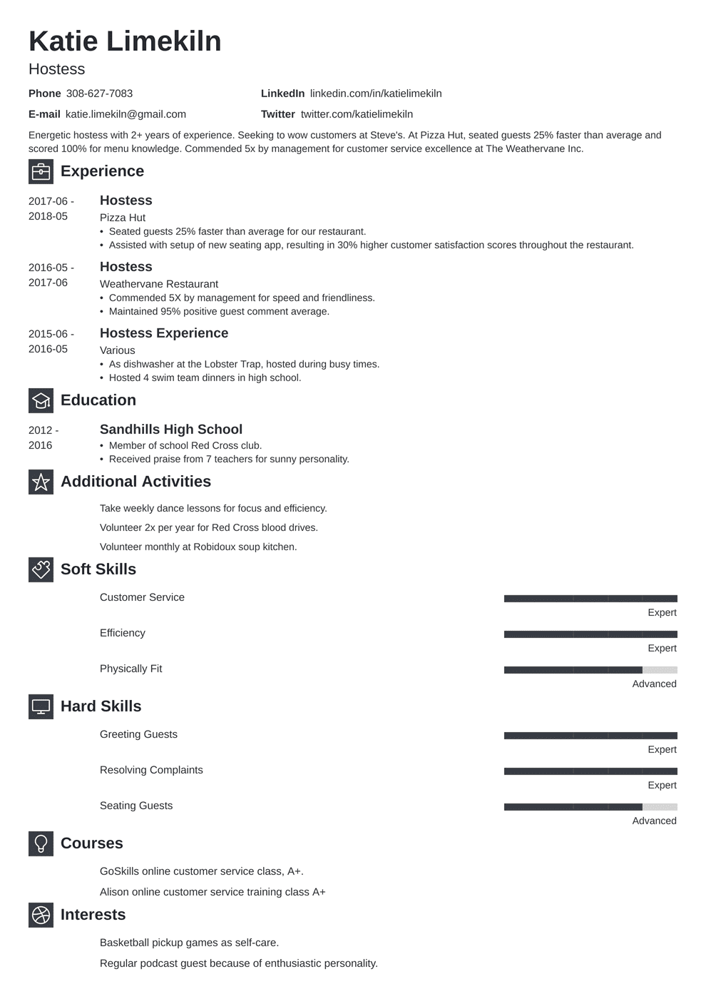 professional hair stylist resume  hair stylist sample job
