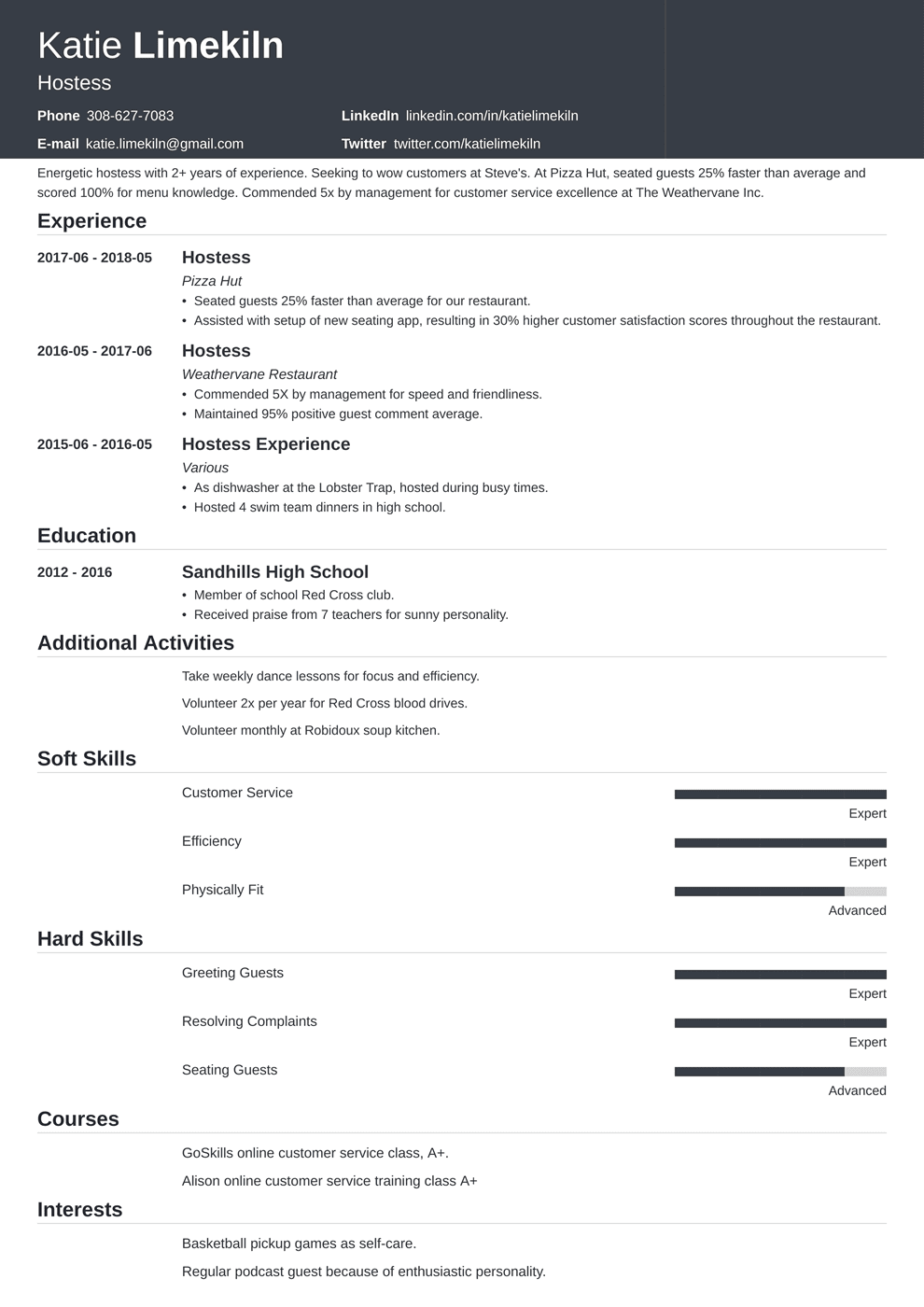 Hair Stylist Resume Examples Hairdresser Skills Objective