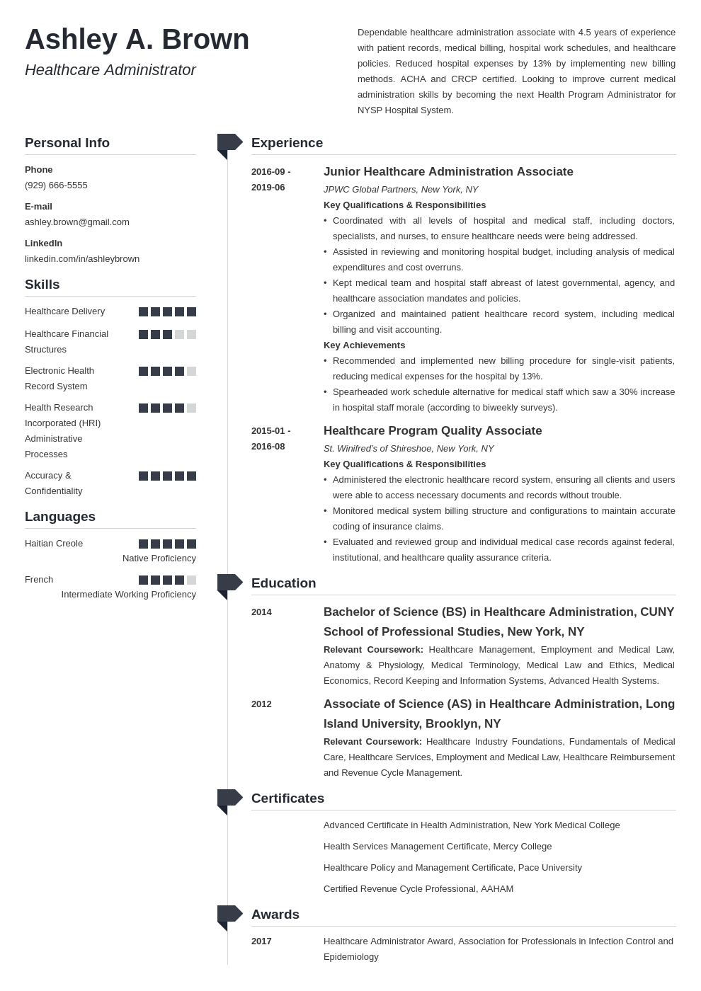healthcare resume example template muse