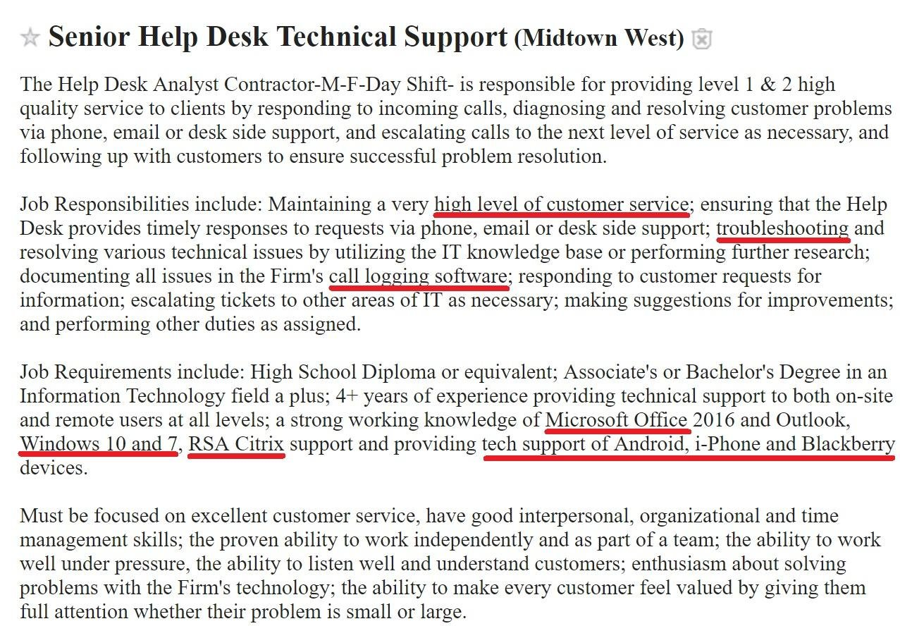 Help Desk Resume: Sample & Complete Guide [20+ Examples]