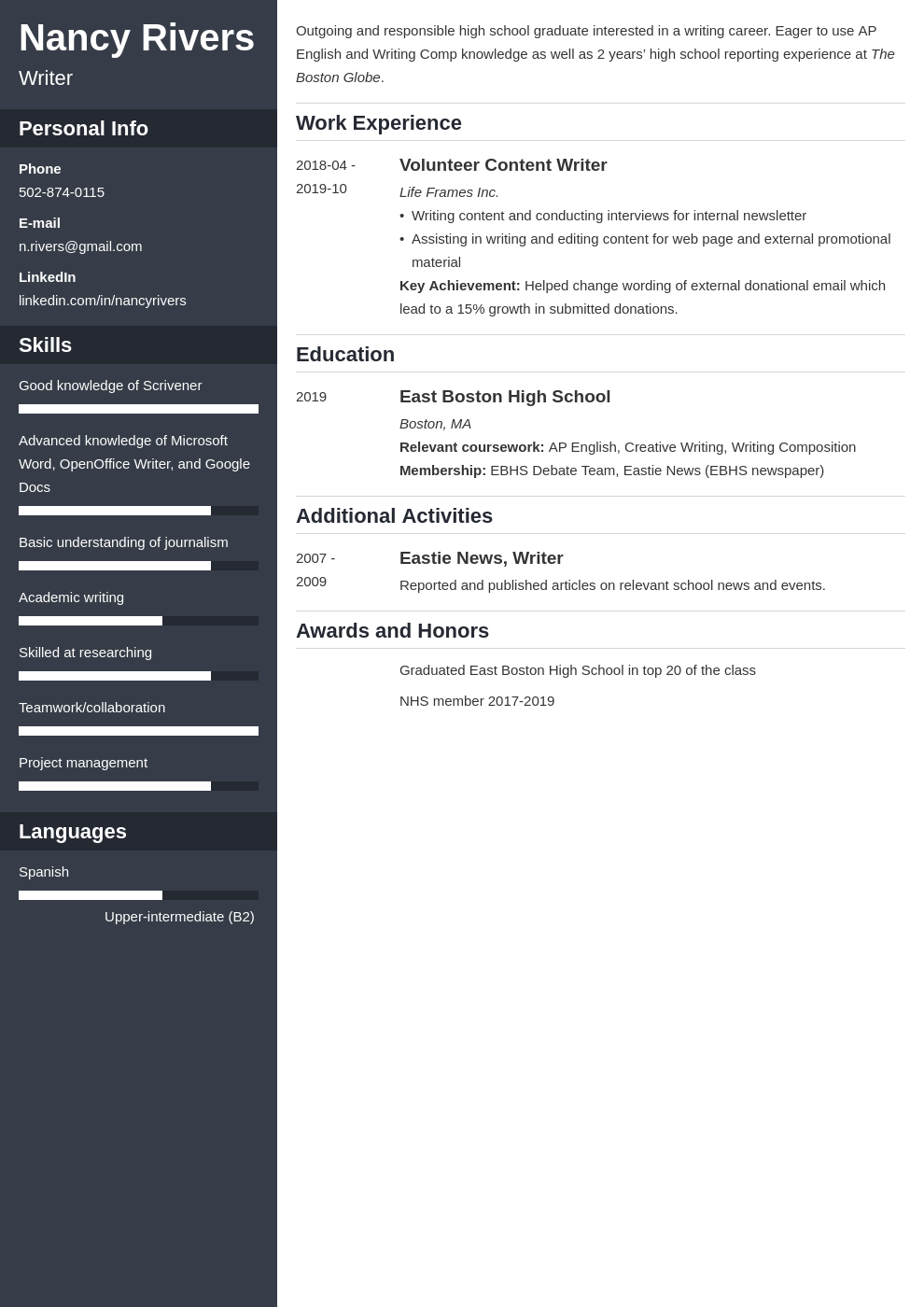 high school graduate resume example template cascade
