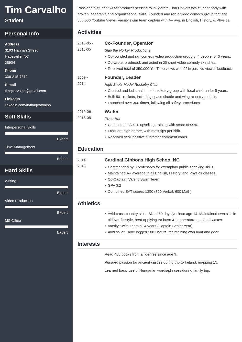 high school resume for college application template cascade