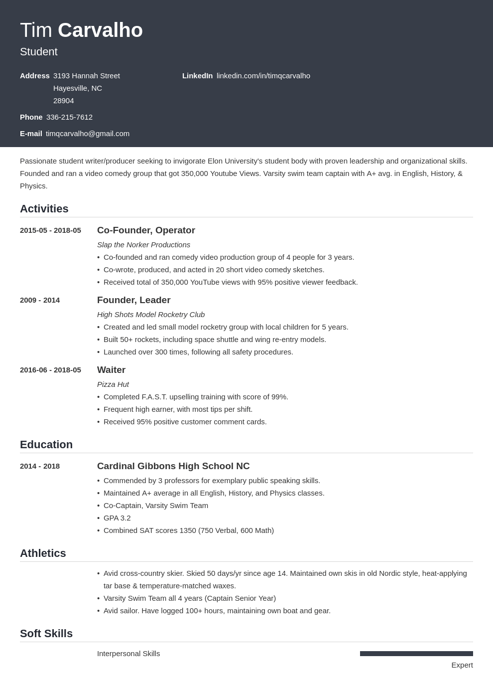 high school resume for college application template influx