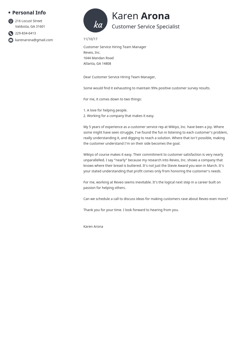 How To Address A Cover Letter And Who