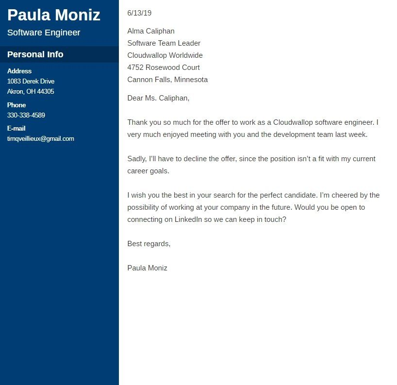 Rejecting An Offer Letter from cdn-images.zety.com