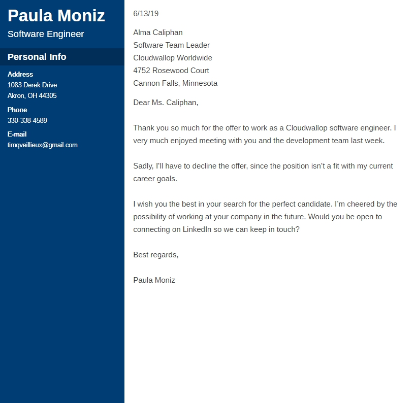 Letter To Reject A Job Offer from cdn-images.zety.com