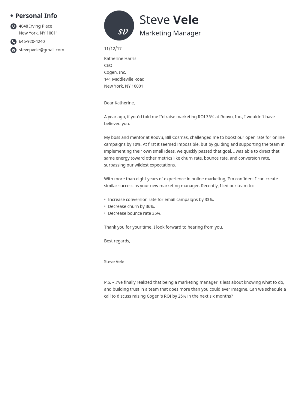 50+ Wonderful Concluding Cover Letter  You Must Know