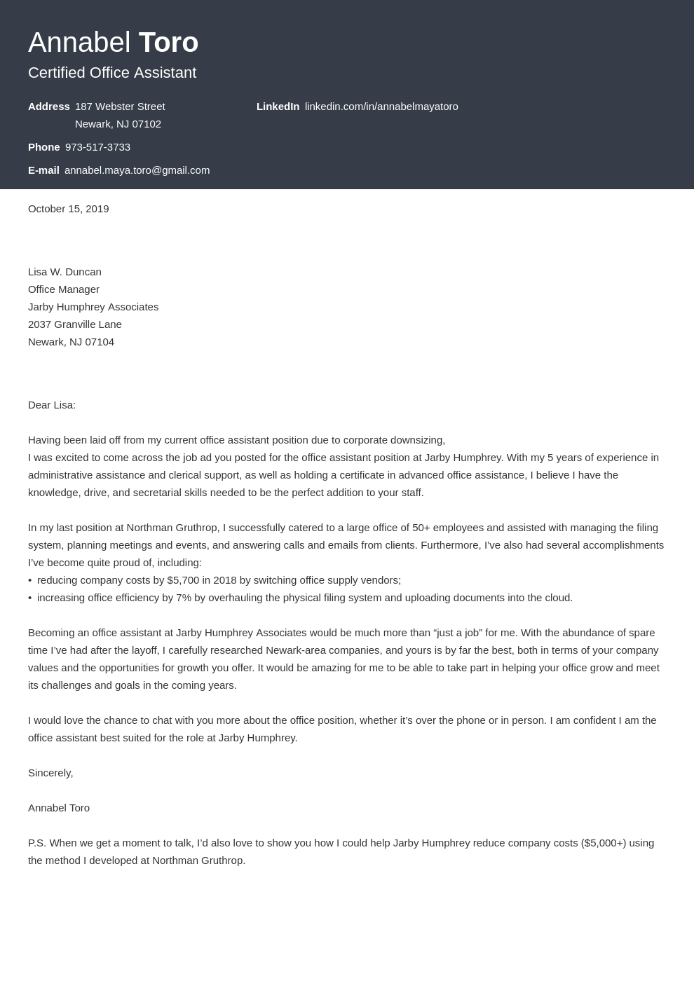 How To Write A Cover Letter For A Job In 2021 12 Examples