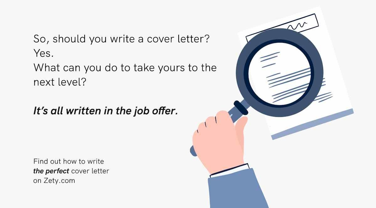 how to write the perfect cover letter