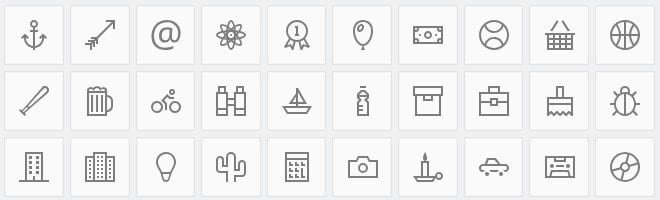 icons for cv