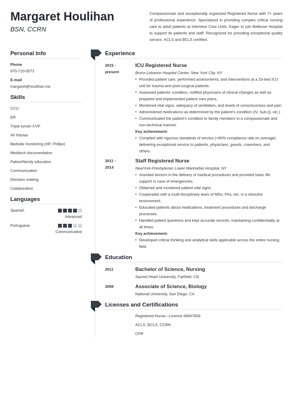 icu nurse resume example template muse