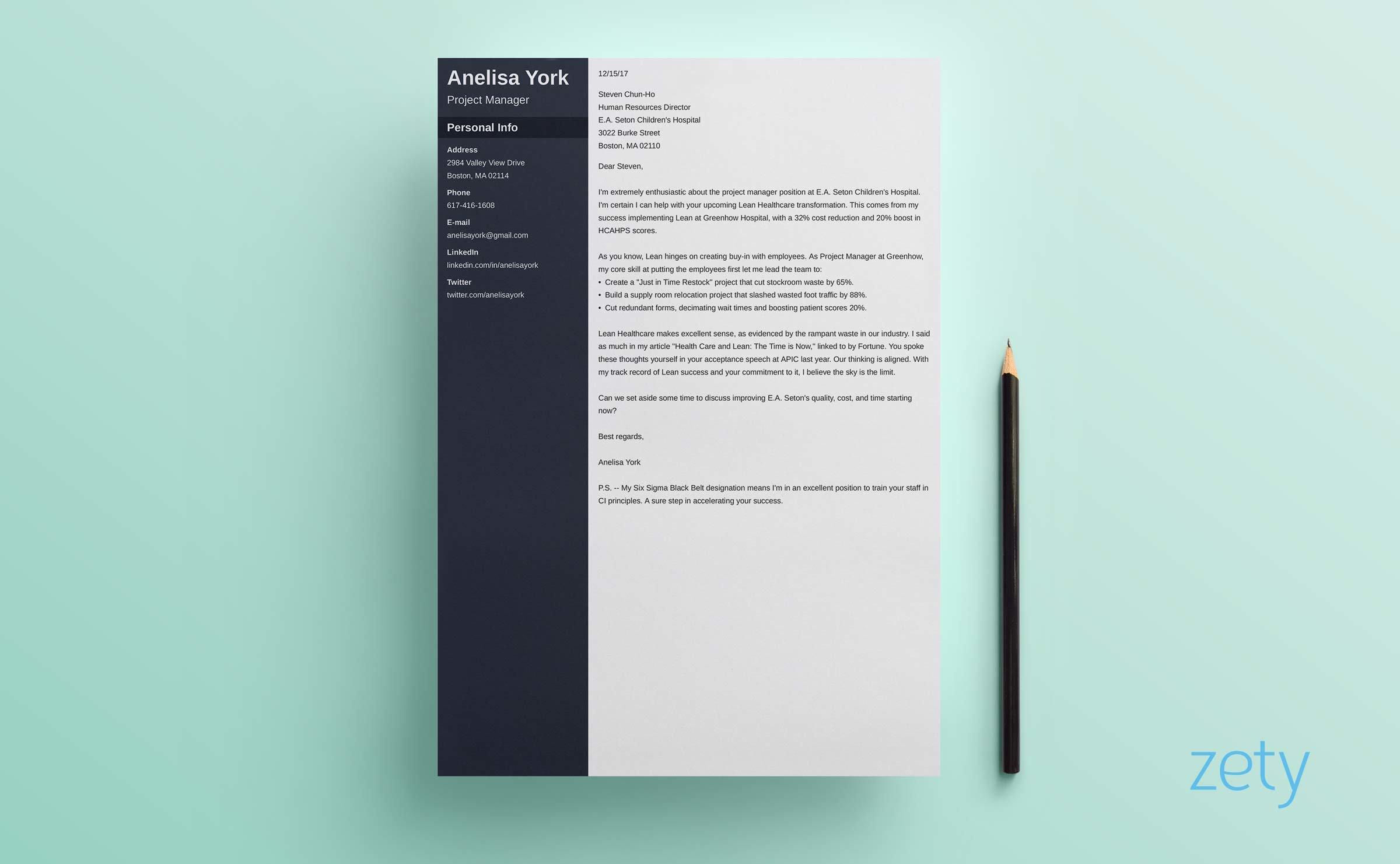 how long should a cover letter be ideal word length