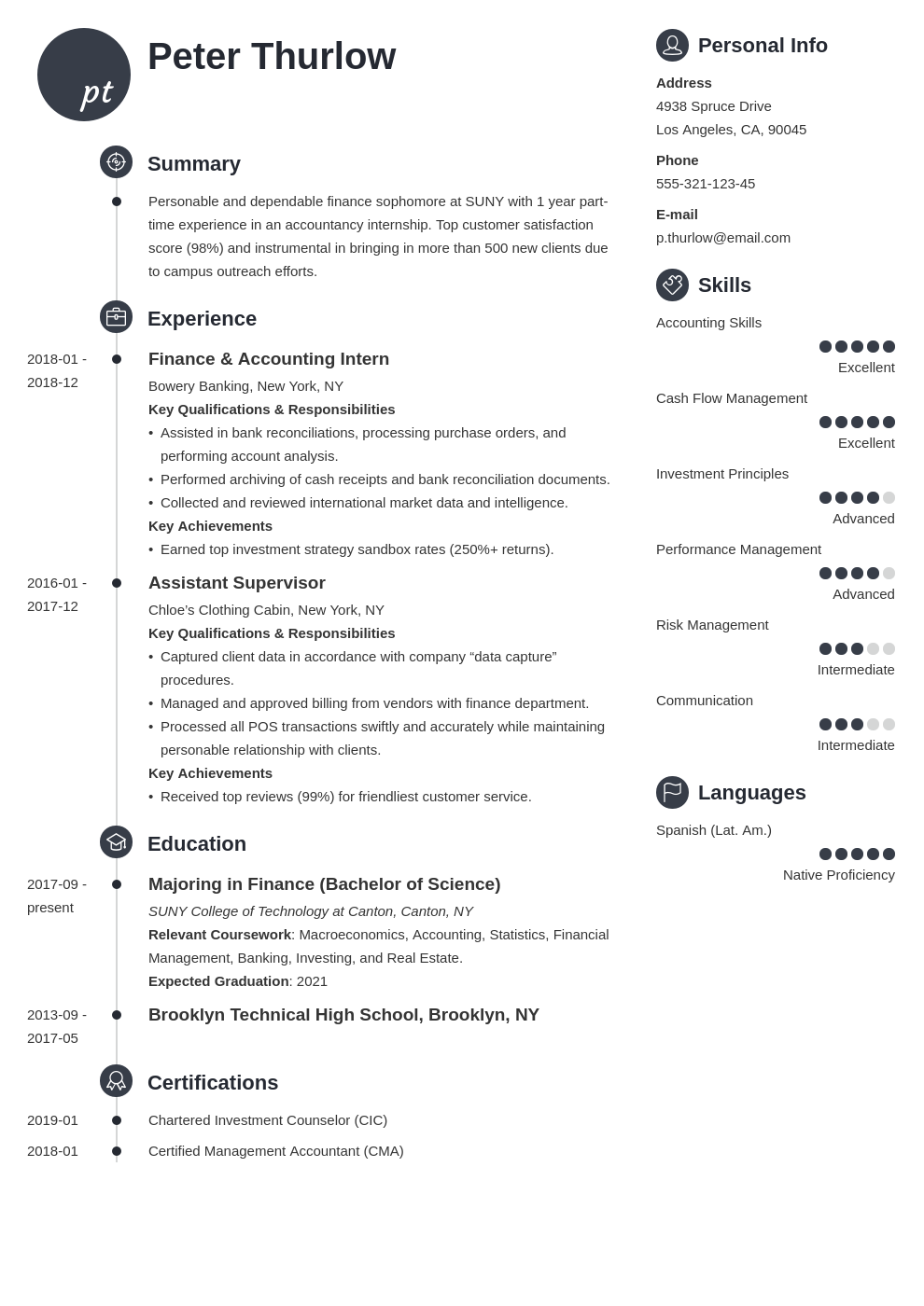 internship resume for college students guide 20 examples