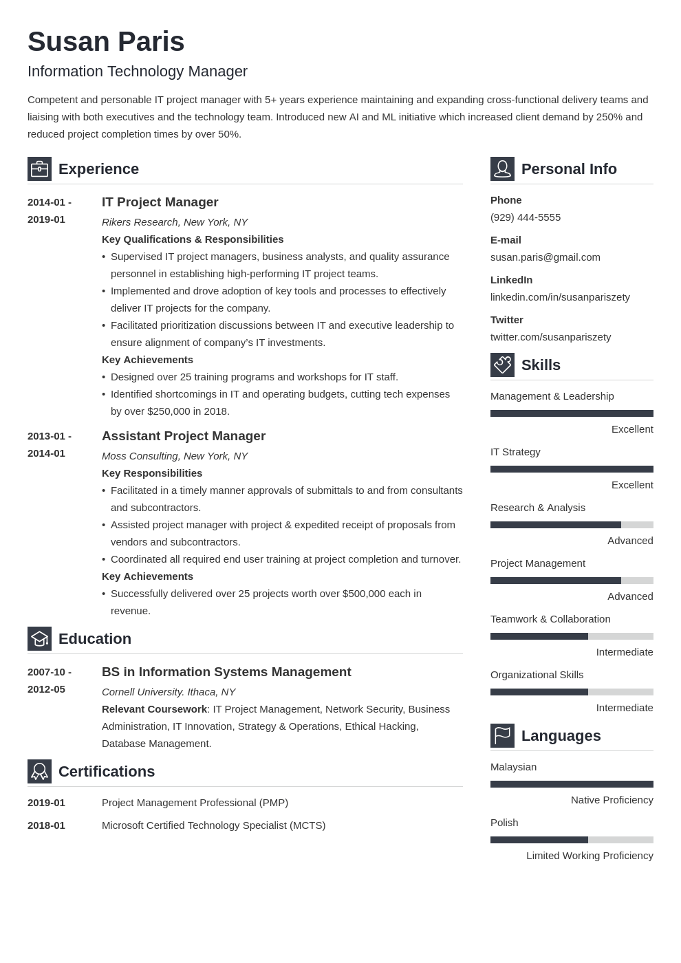 it manager resume example template vibes