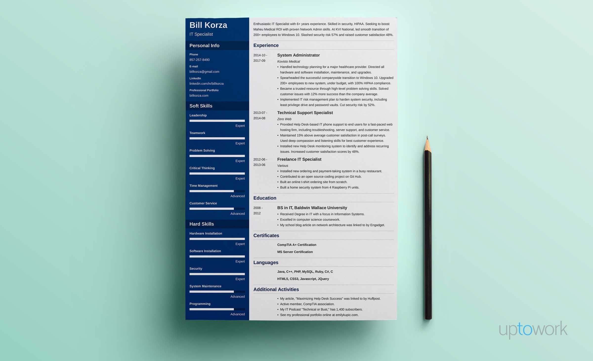 20 Resume Profile Examples: How to Write a Professional Profile [+ ...