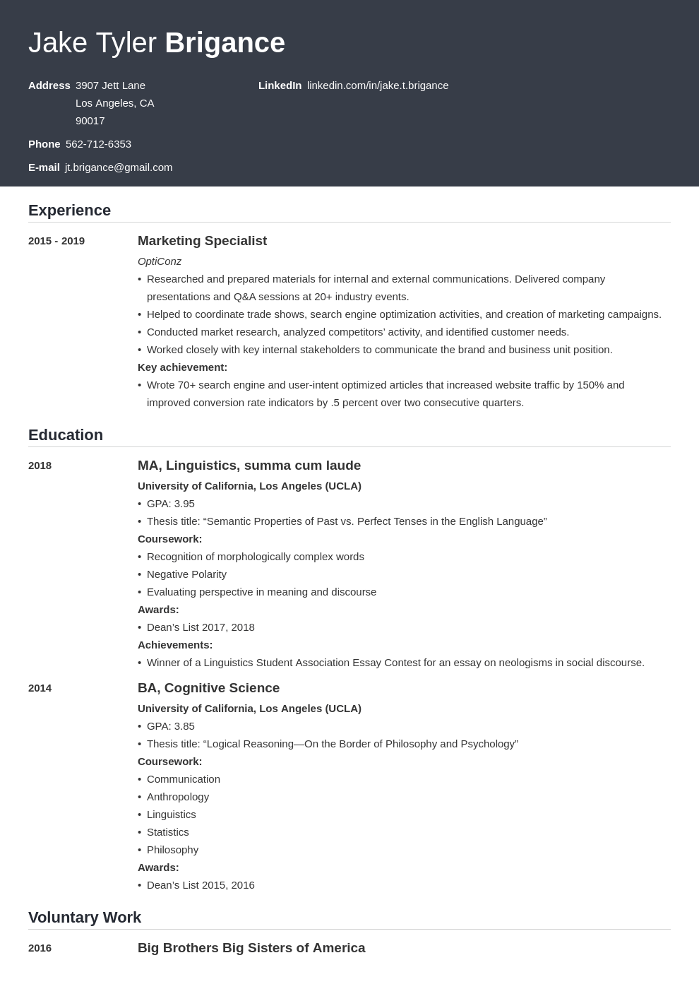 law student resume example template influx