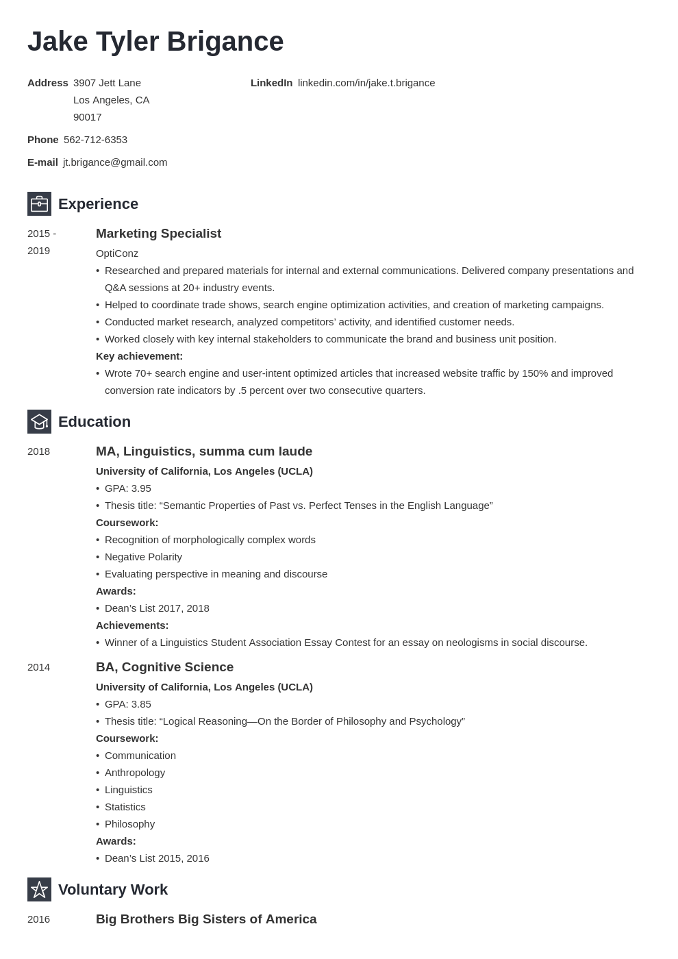 law student resume example template newcast