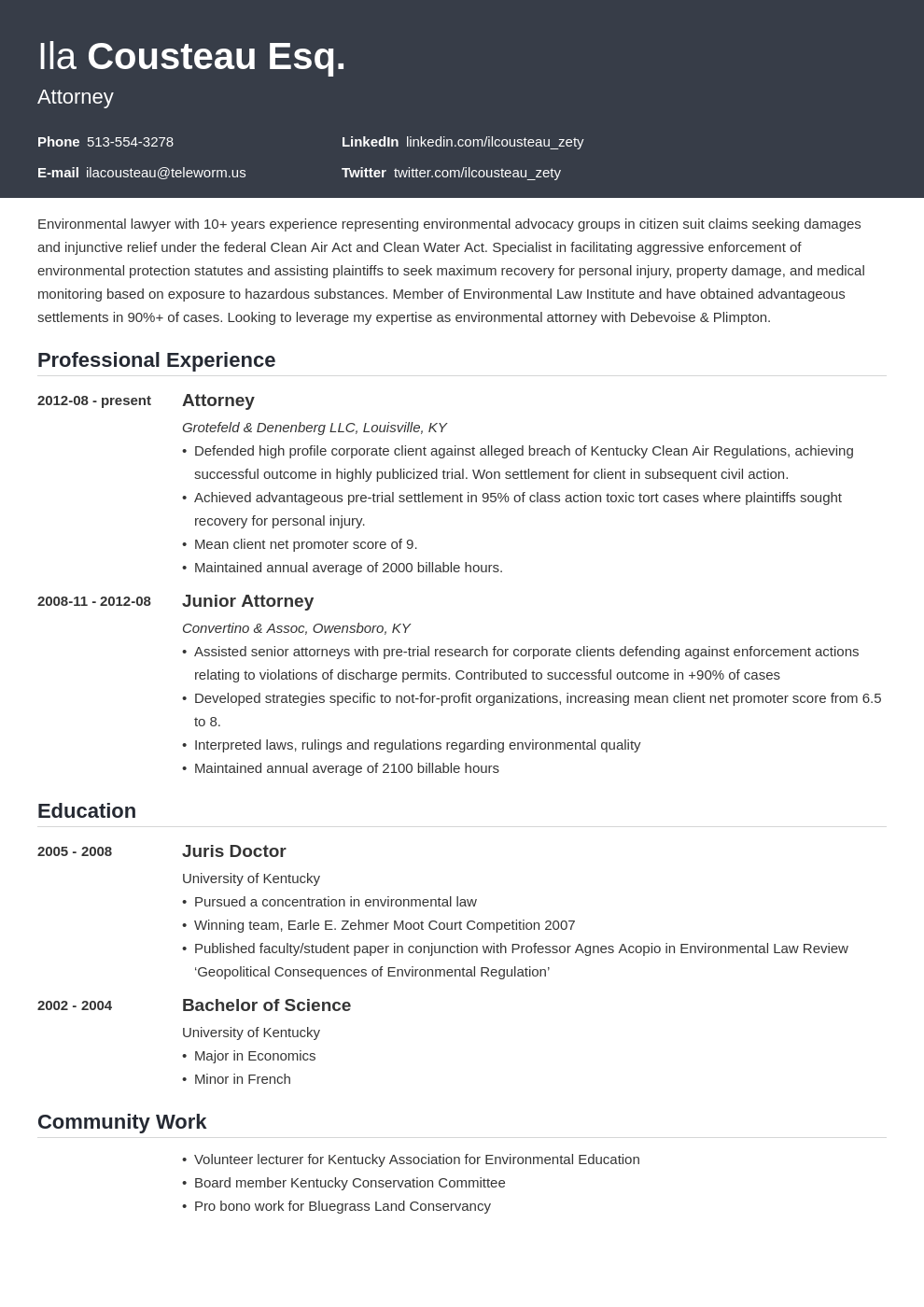 legal resume example template influx