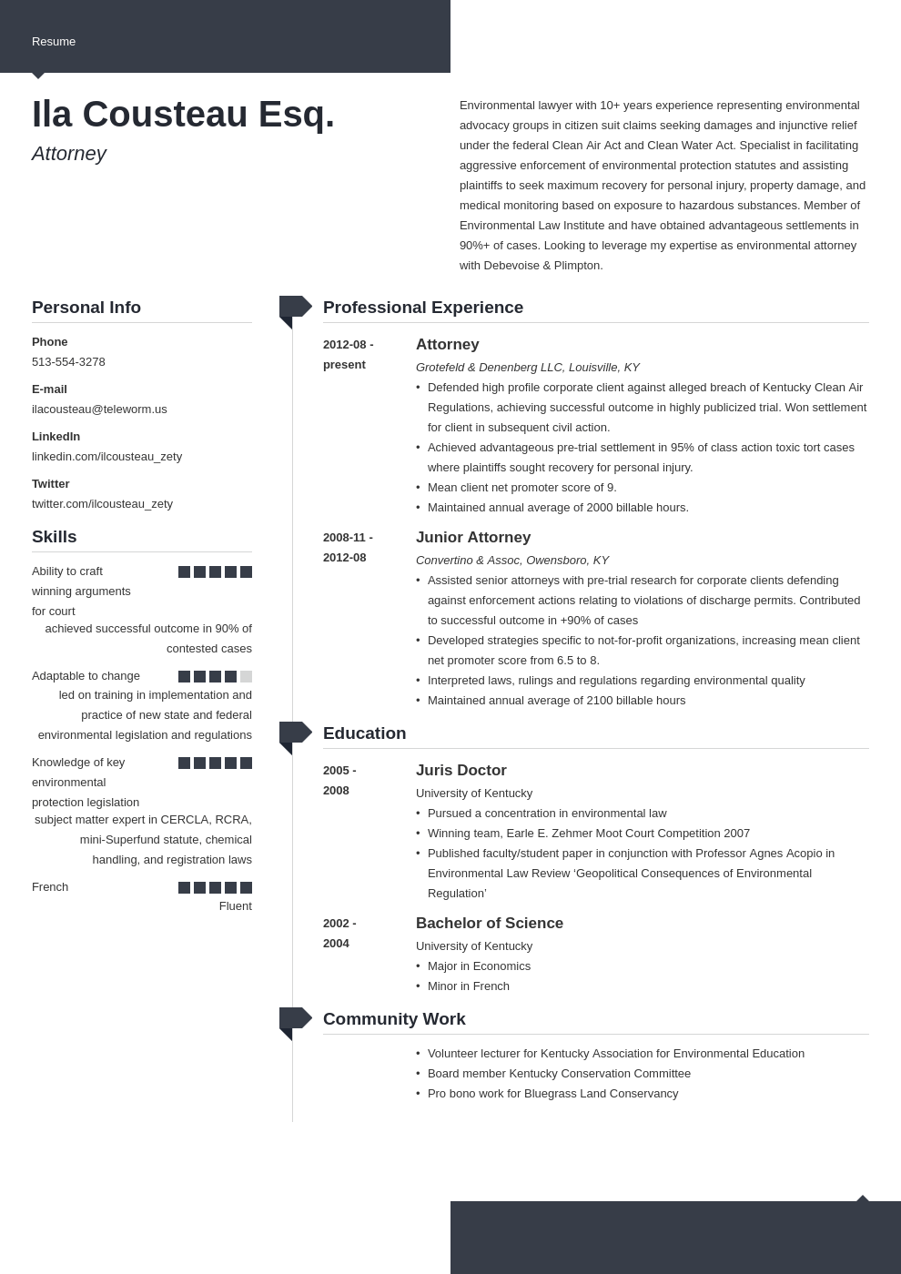 legal resume example template modern