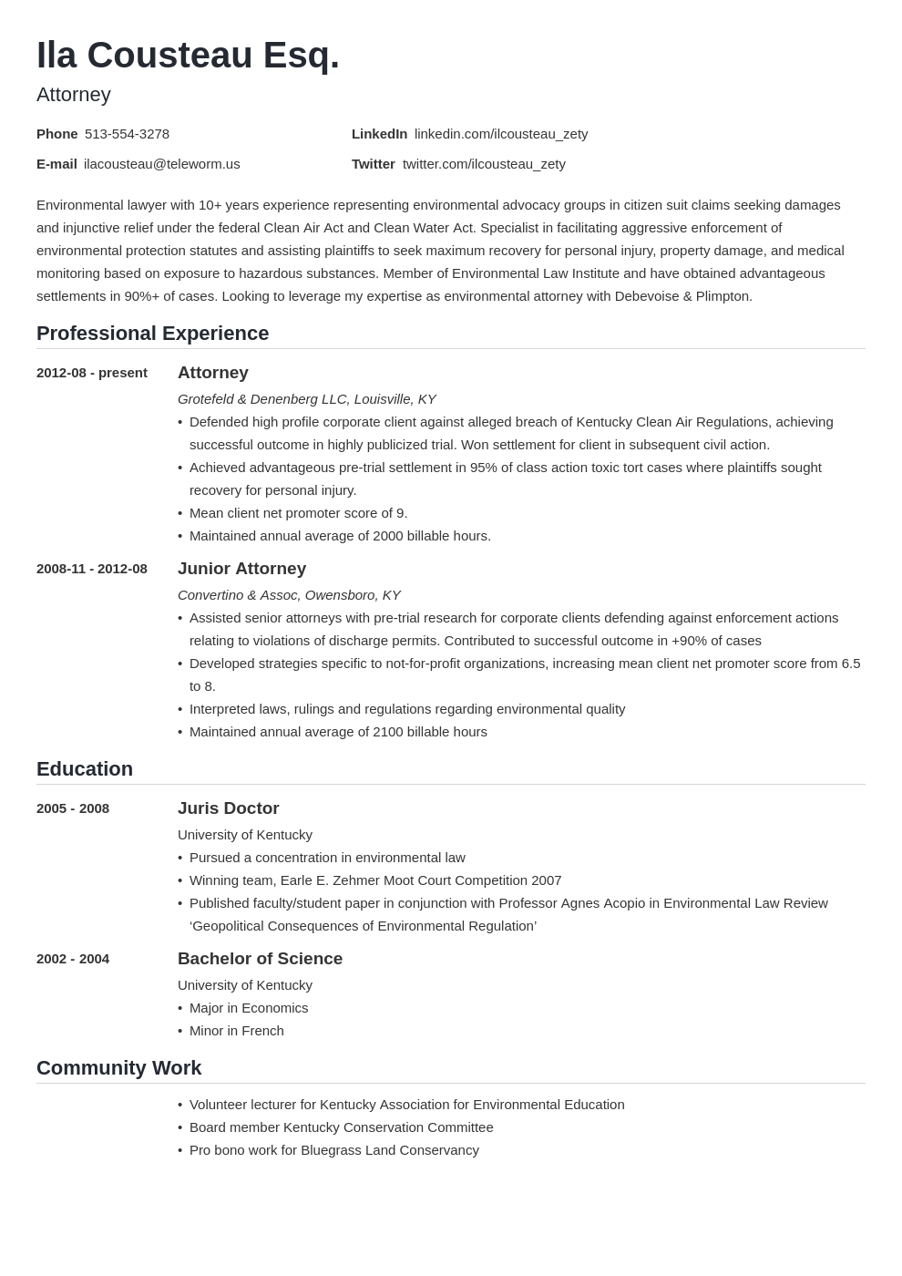 legal resume example template nanica