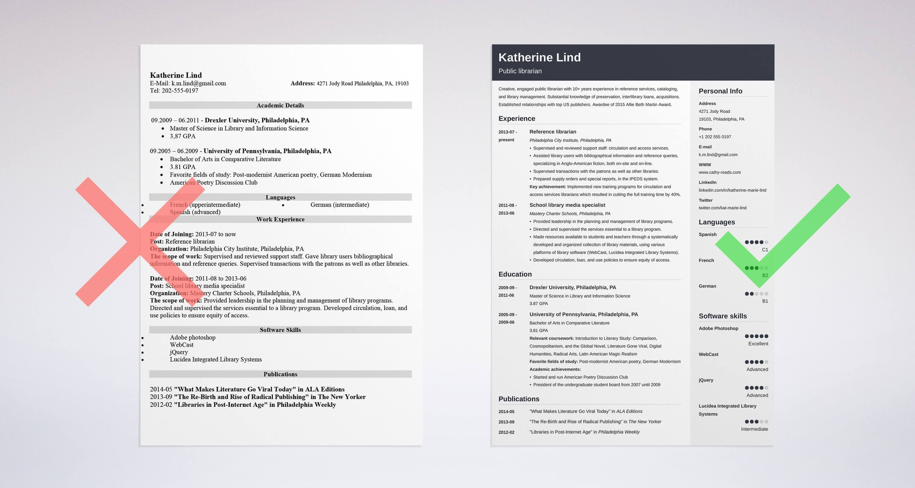 librarian resume sample complete guide 20 examples - Library Resume Sample