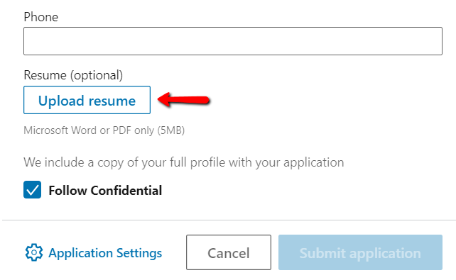 How To Upload A Resume To Linkedin Update Add