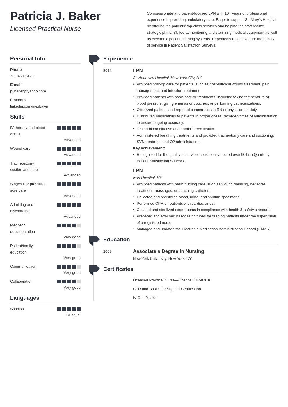lpn resume example template muse