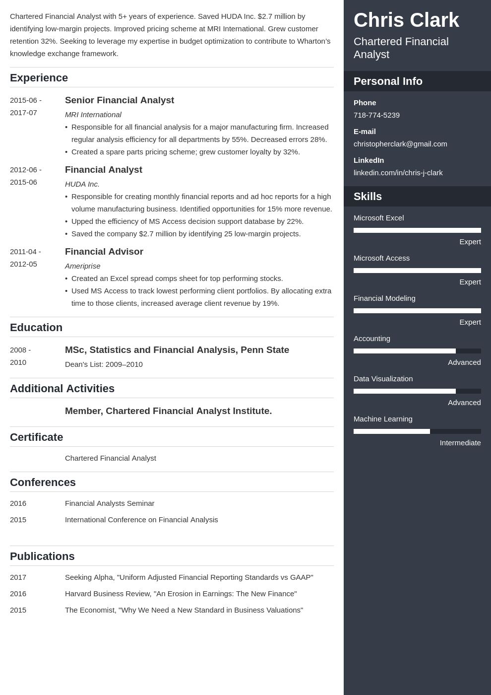 mba resume example template enfold