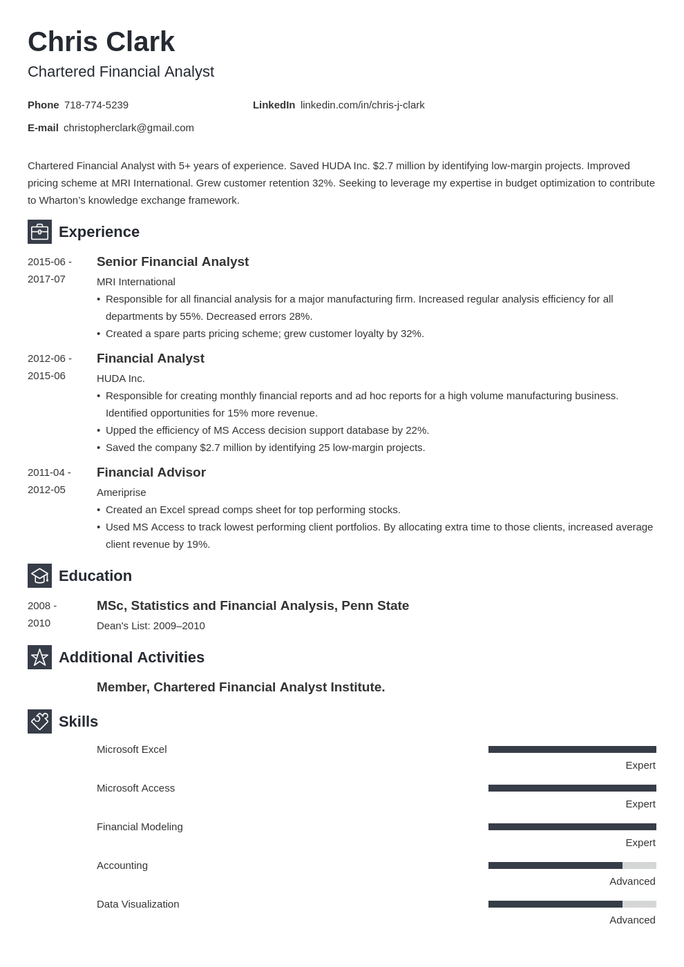 mba resume example template newcast