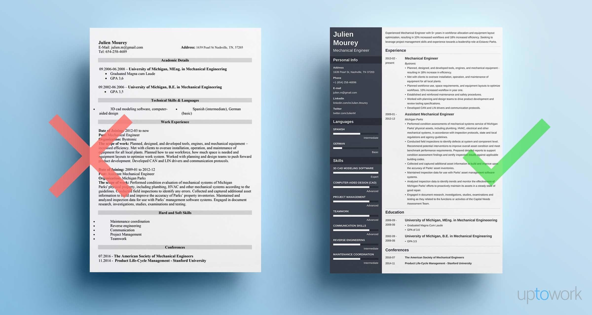 Mechanical Engineering Resume Guide With Sample 20 Examples Piping Layout Engineer
