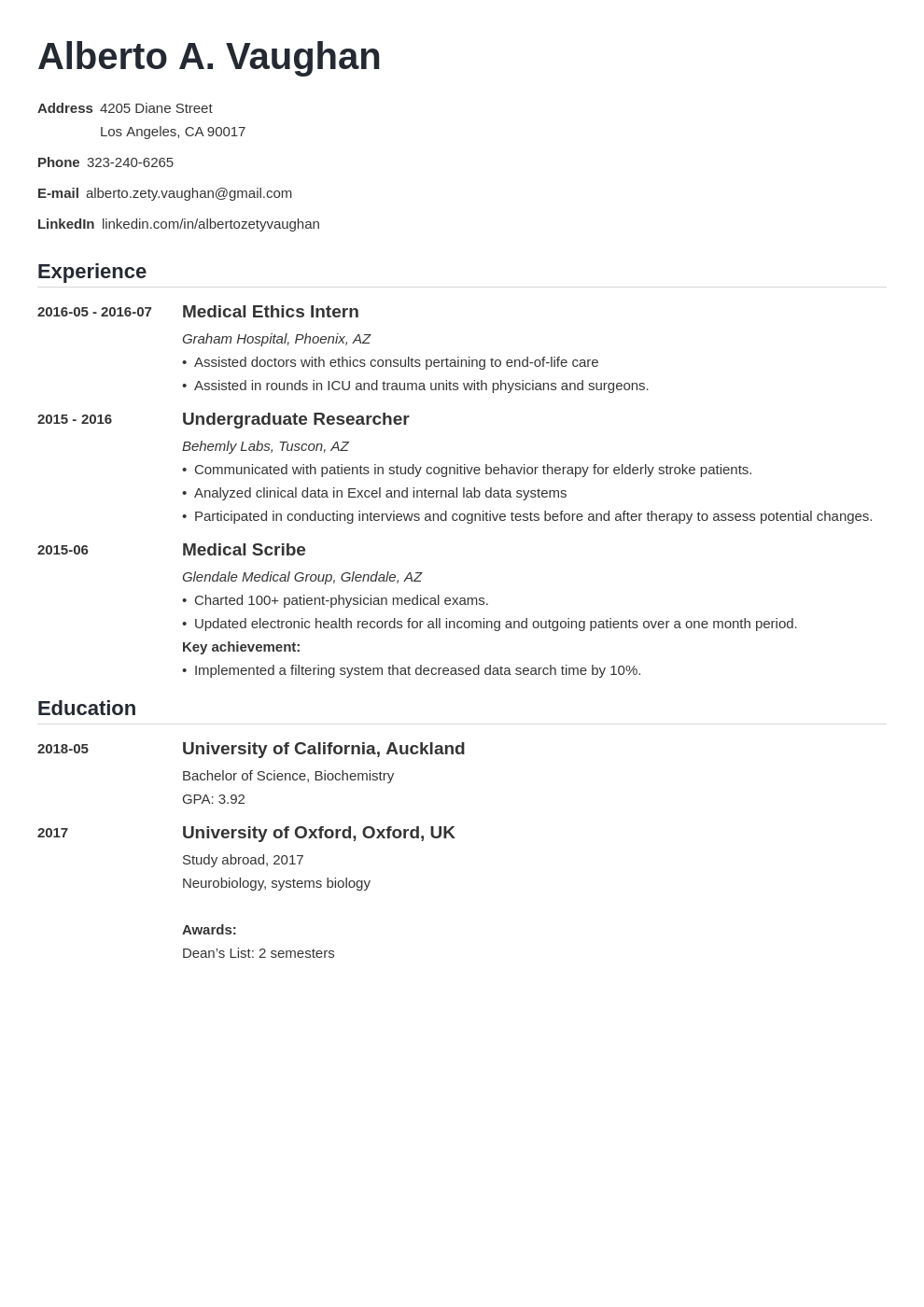 medical student cv template nanica