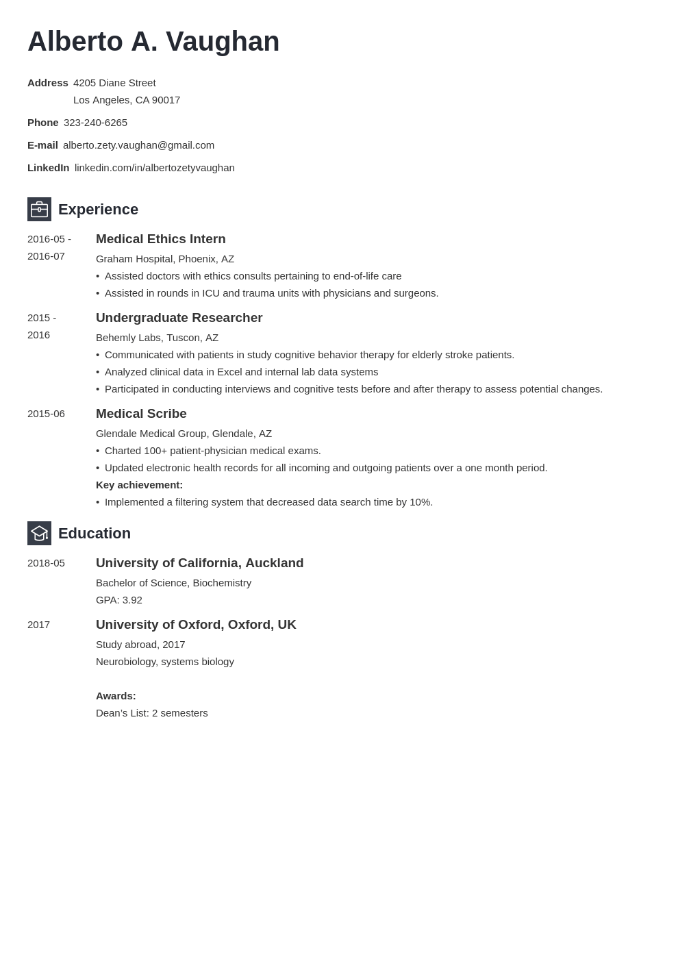 medical student cv template newcast