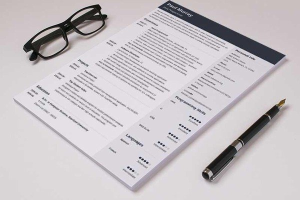 Good Resume Templates (15 Examples To Download U0026 Use Right ...  Resume Good Example