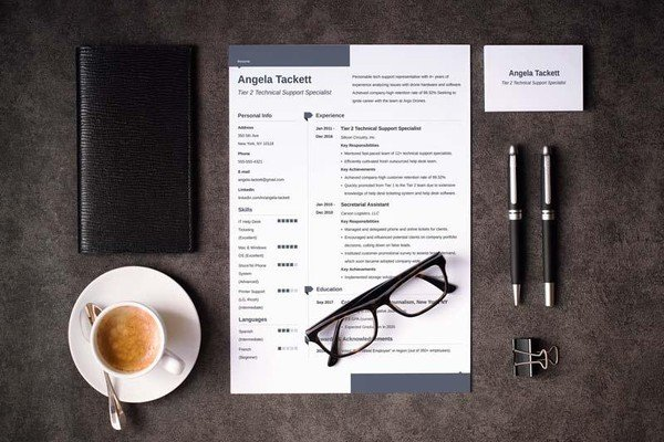 Great Resume Templates (15 Examples To Download U0026 Use Right ...  Great Resume