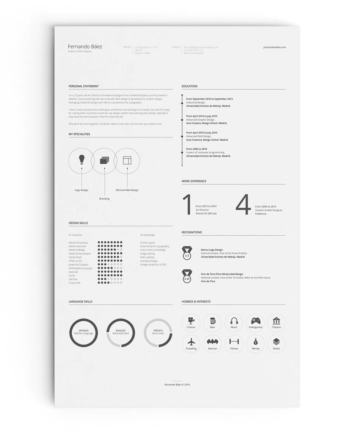 15+ Minimalist Resume Templates To Download & Use (Free