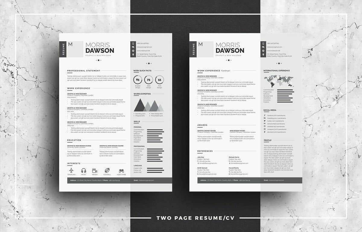 Modern Resume Templates   Examples A Complete Guide