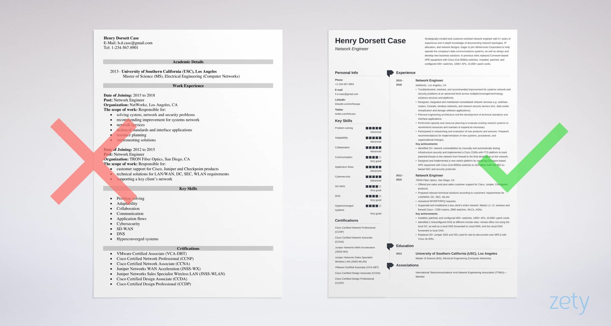 network engineer resume  sample and writing guide  20