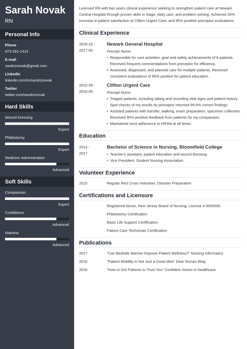 nursing student resume example template cascade