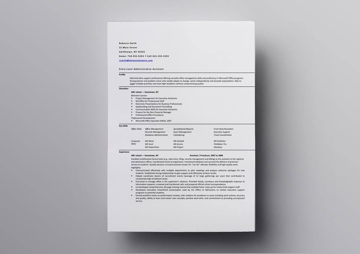 10 Best Open Office Resume Templates To Download Use For Free