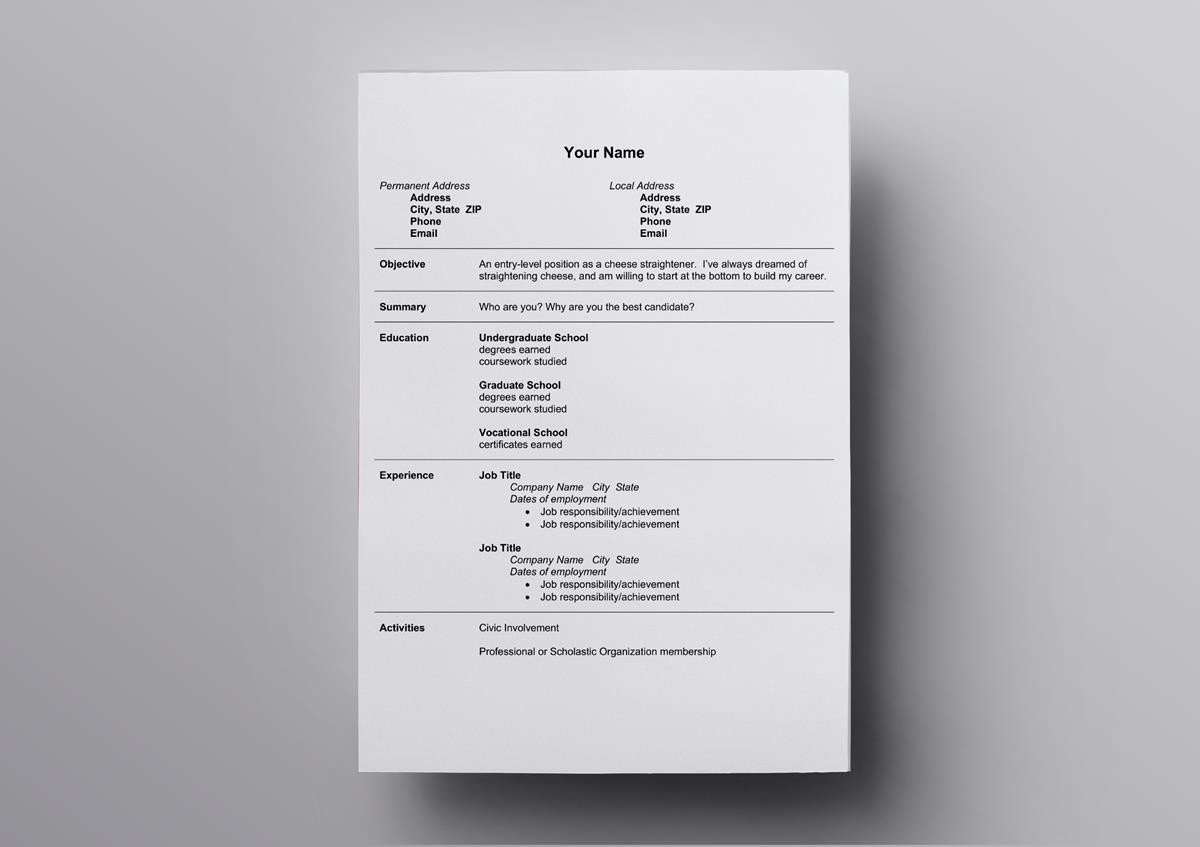 10+ Best Open Office Resume Templates to Download & Use for Free