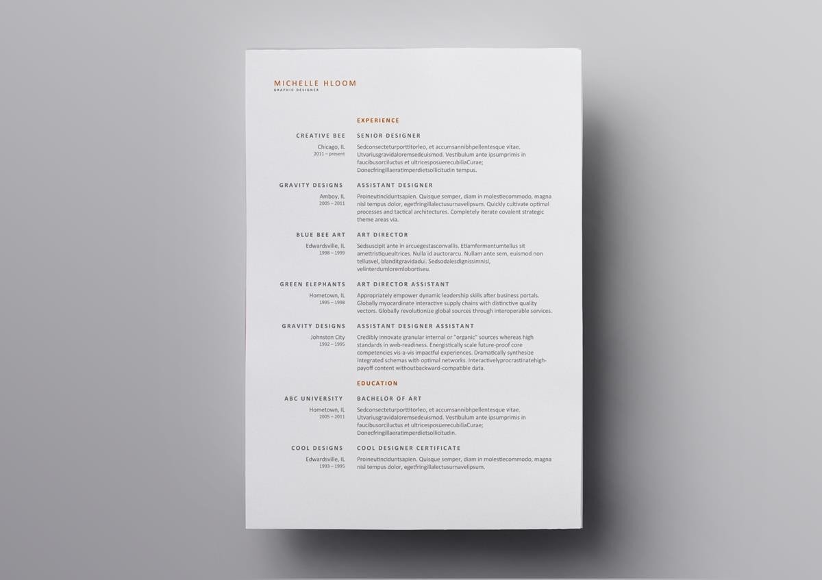 10  best open office resume templates to download  u0026 use for free