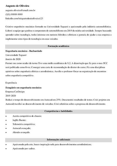 pacote office curriculo
