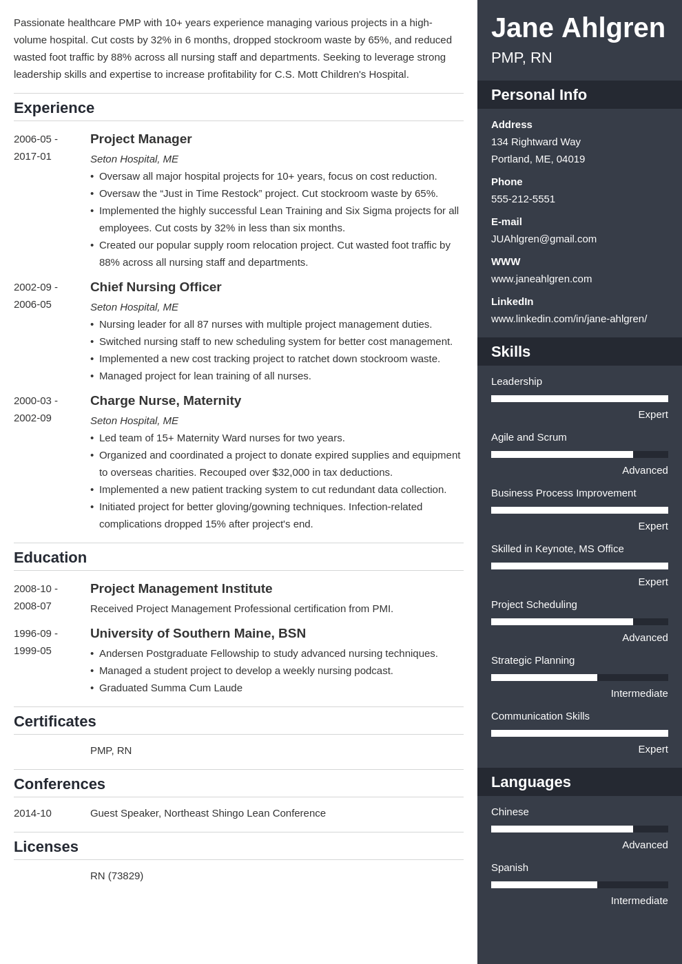 plain text resume example template enfold
