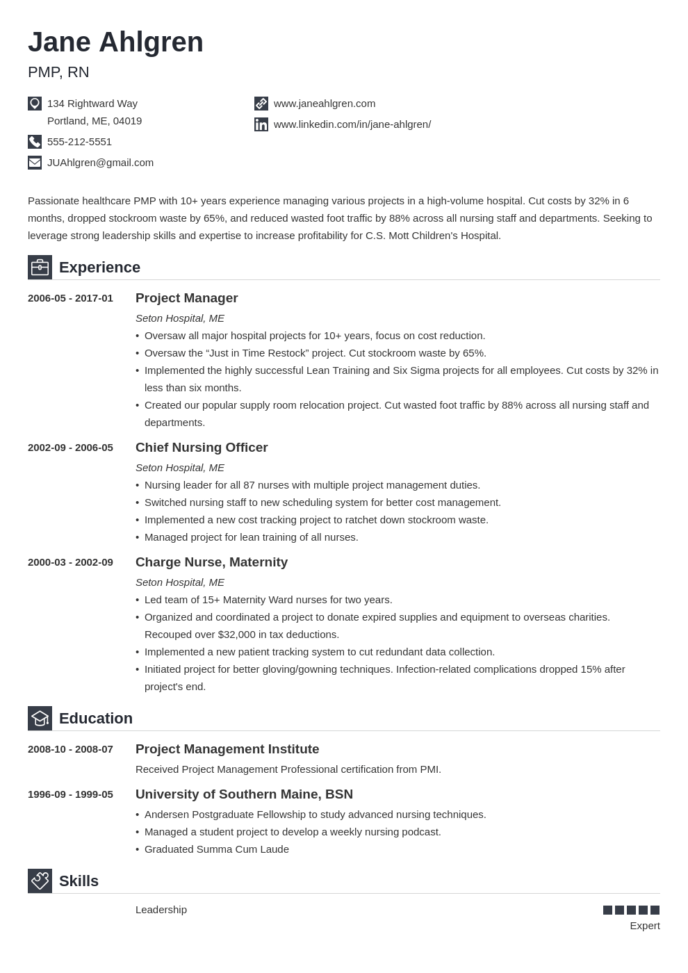 plain text resume example template iconic