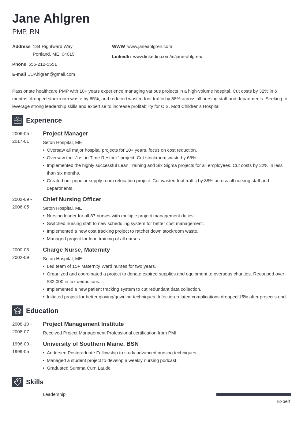plain text resume example template newcast