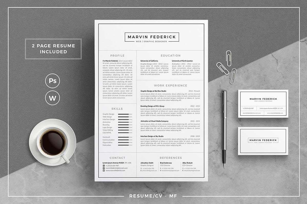 Professional Resume Templates (15 to Download and Use Right Away)